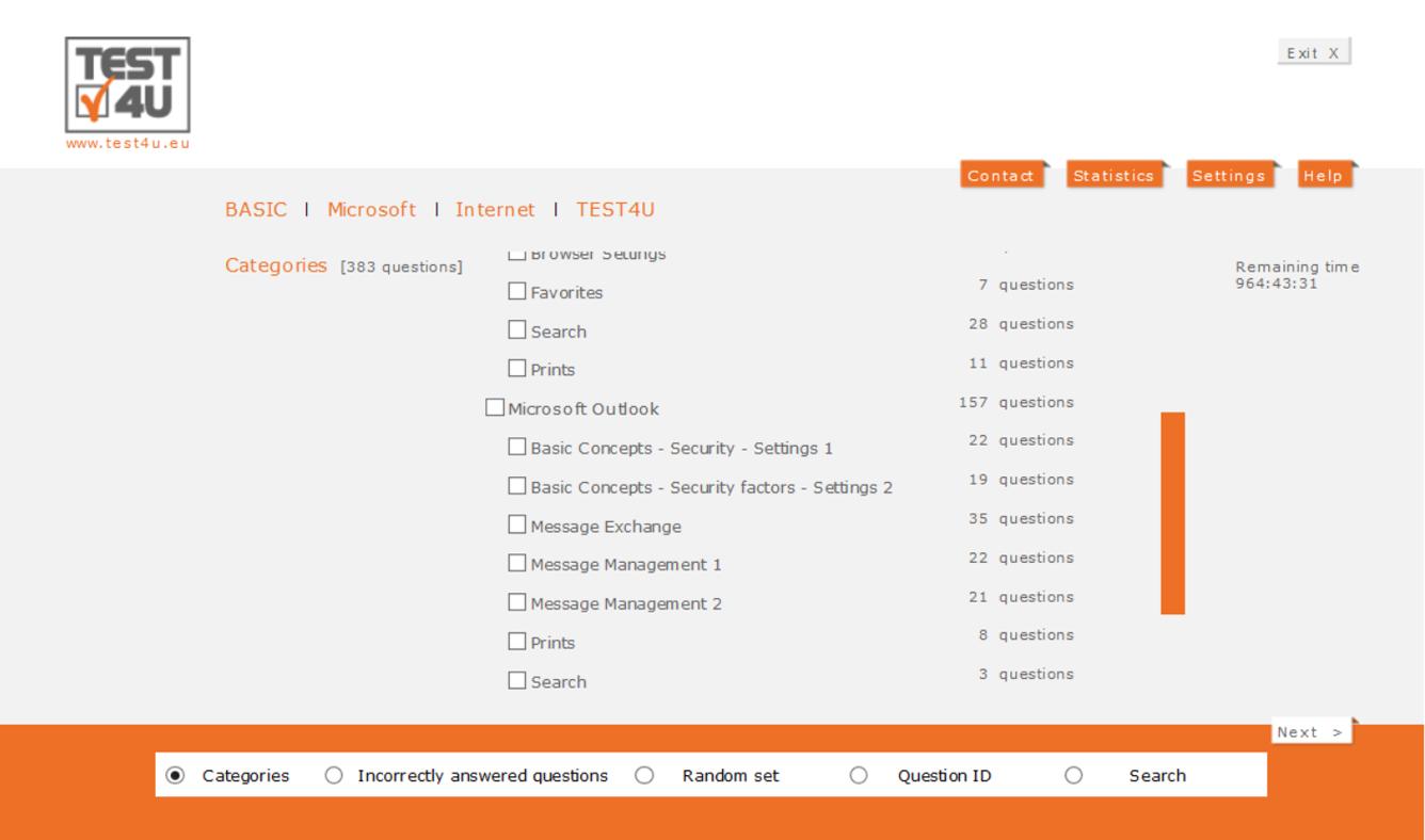 ECDL Base Online Essentials-German version