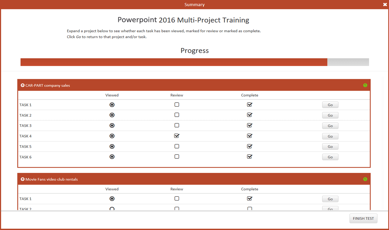 77-729 Microsoft Office Specialist Powerpoint Core 2016-English version