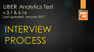 TEST4U UBER Analytics Test v3 1 & v6 16 - a complete Training system