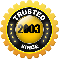 Trusted since 2003